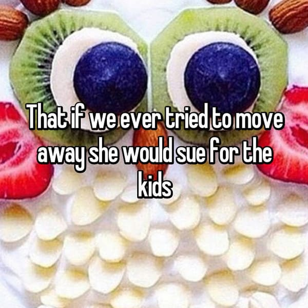 Crazy Things Mothers-In-Law Said sue for the kids