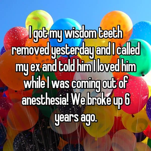 Crazy Things People Did Whilst Under Anesthesia called ex