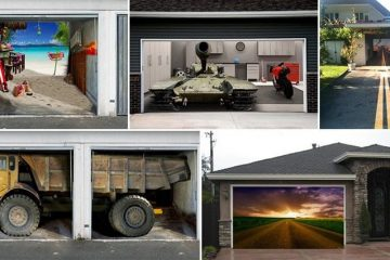 Creative Garage Doors To Make Your House Look Awesome