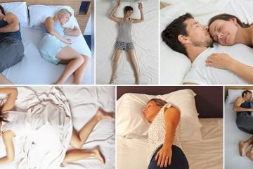 Different Sleeping Positions And What They Say About You