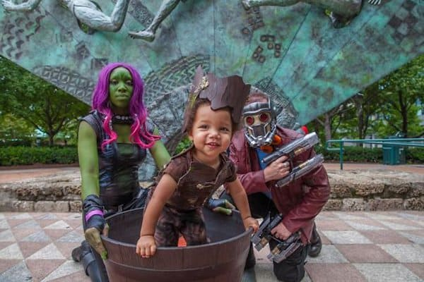 Family Halloween Costumes guardians of the galaxy