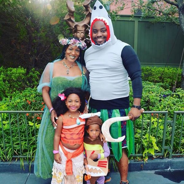 family halloween costumes moana
