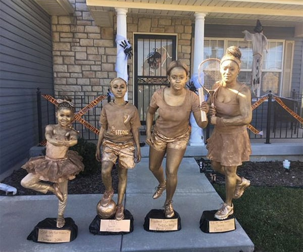 Family Halloween Costumes trophies