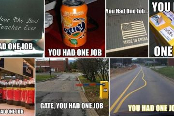 Hilarious And Baffling You Had One Job Fail Images