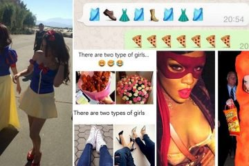 Hilarious Images Proving There Are Two Different Types Of Girls In This World