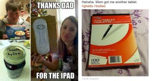 Hilarious Times Kids Got Trolled By Their Parents' Joke Christmas Presents