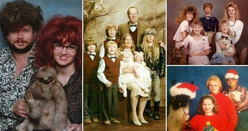 Hilariously Awkward Family Photos You Can't Stop Looking At