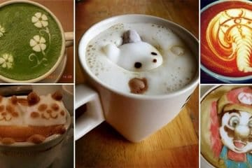 Incredible Pieces Of Latte Art That Will Make You Crave Coffee