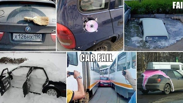 Intriguing Car Related Fails That Will Leave You Wondering