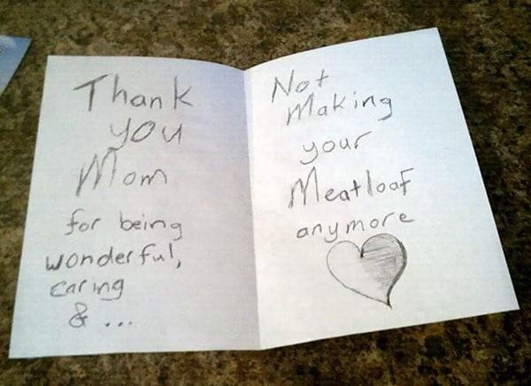 Kids Drawings Embarrassed Parents meatloaf