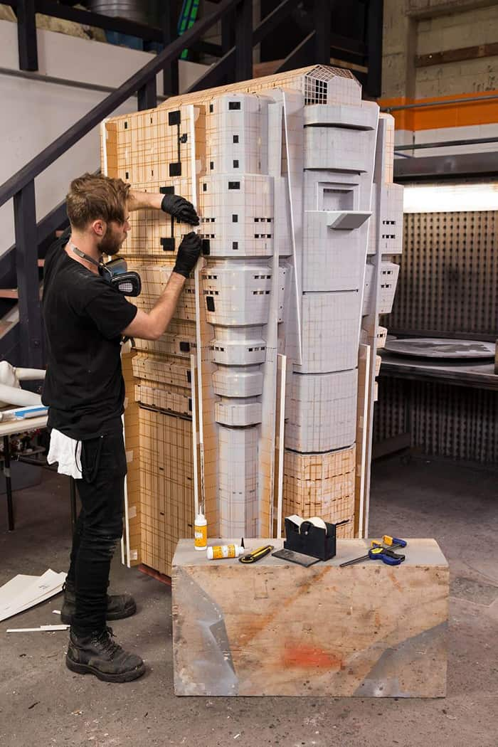 Miniature Film Sets Blade Runner 2049 making process