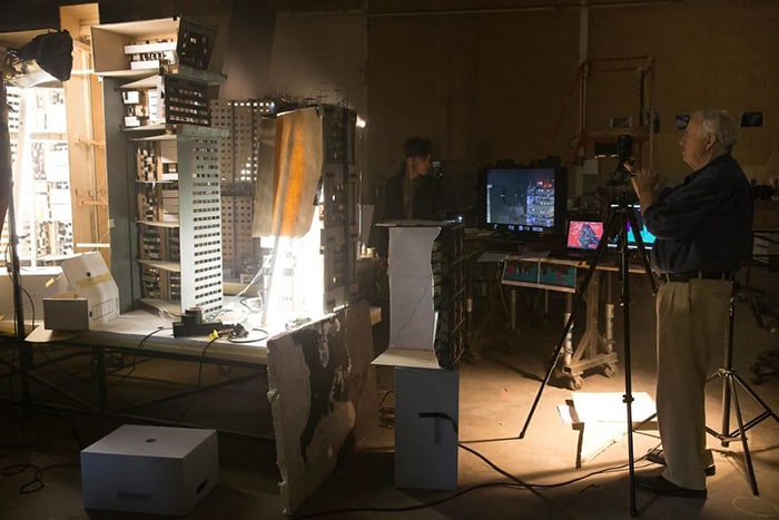 Miniature Film Sets Blade Runner 2049 shooting
