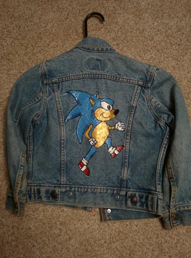 Moms Make Everything Better sonic demin jacket