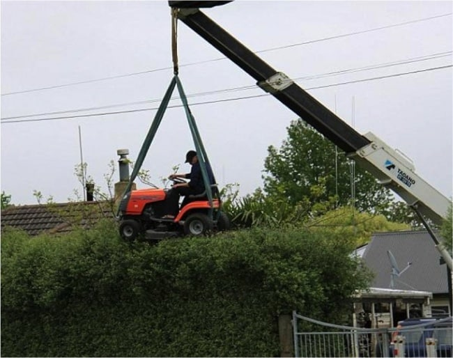 Natural Born Engineers hedge trimming