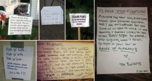 Notes Left By Neighbors That Will Make You Giggle