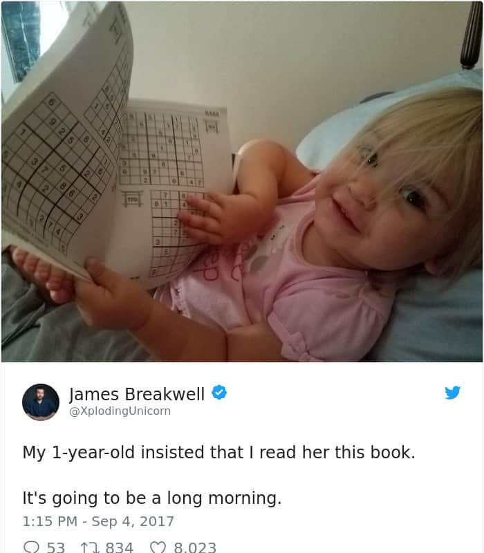 Parenting Tweets sudoku book