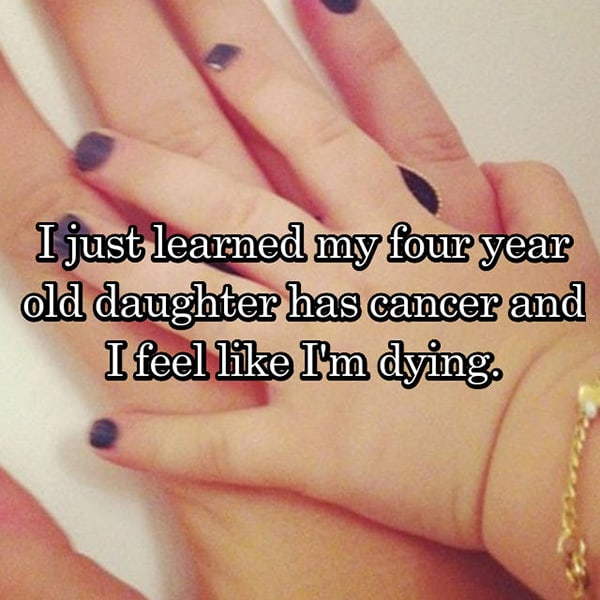 Parents With Children Who Have Cancer dying