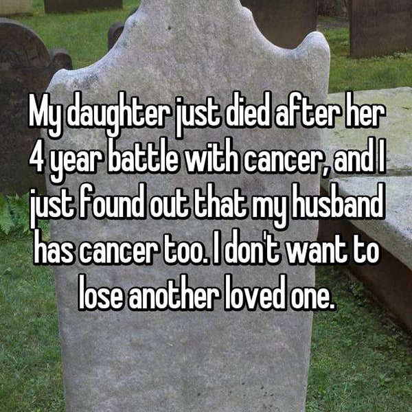 Parents With Children Who Have Cancer husband has cancer too