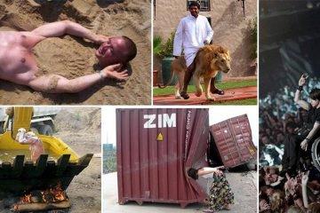 Photos Of People Doing Strange Things