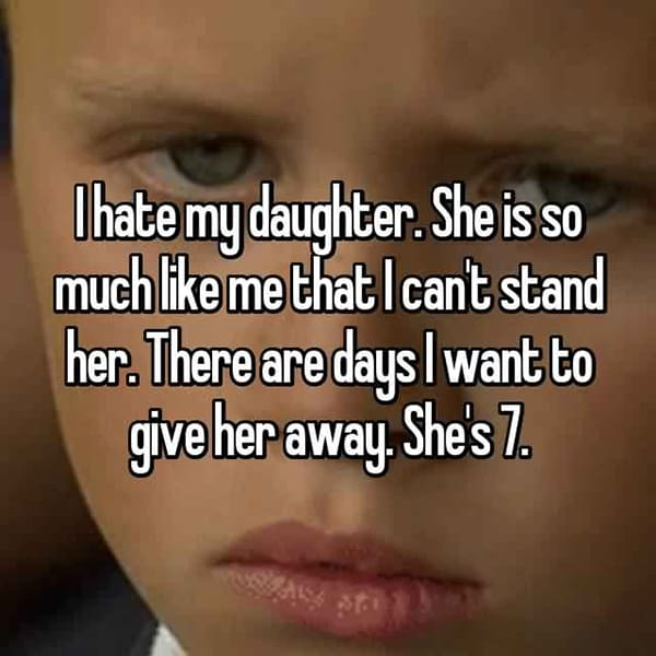 Shocking Confessions From Parents give her away