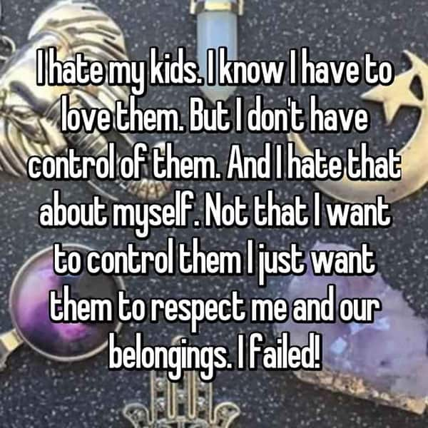 Shocking Confessions From Parents i failed