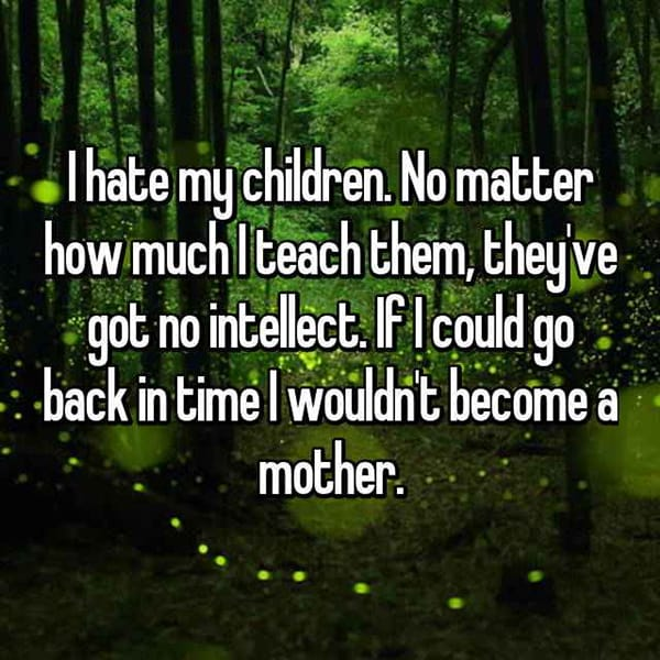 Shocking Confessions From Parents intellect