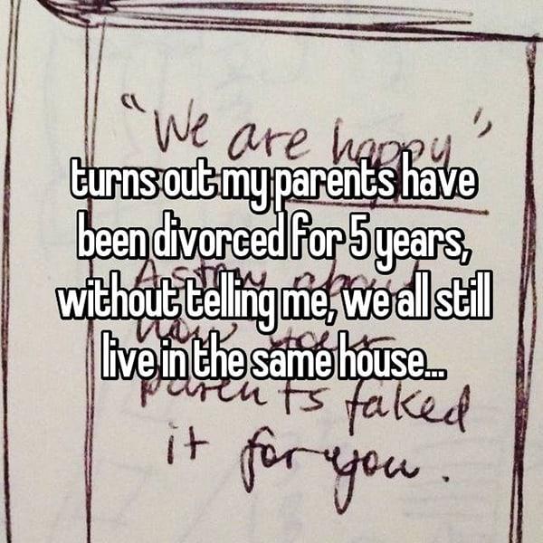 Shocking Secrets About Parents divorced