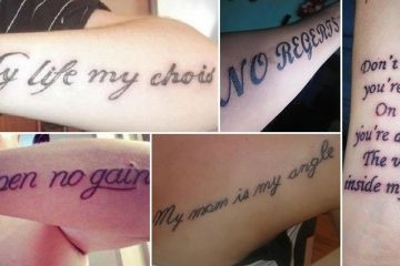 Tattoos That Failed Miserably At Using The Correct Spelling And Grammar