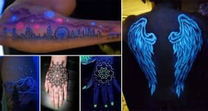 The Most Epic Glow In The Dark Tattoos