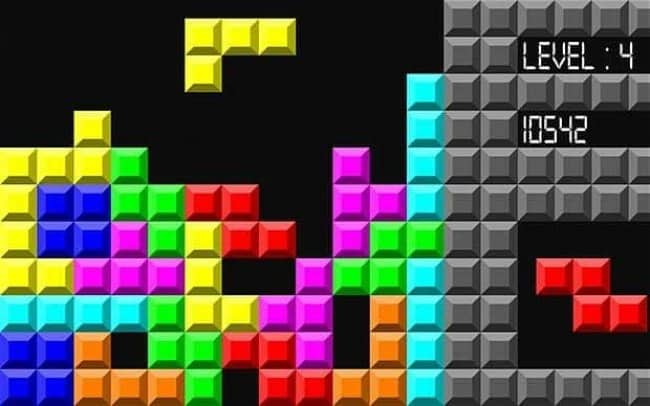 Things From The 90's tetris