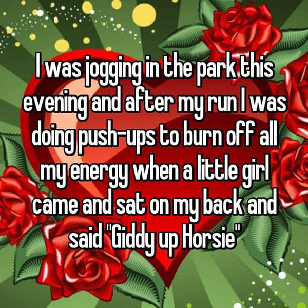 Things That Happened To Women Jogging giddy up horsie