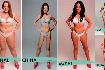 This Female Was Photoshopped To Look Beautiful In 18 Different Countries