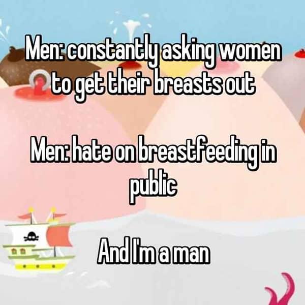 Thoughts On Breastfeeding men im a man