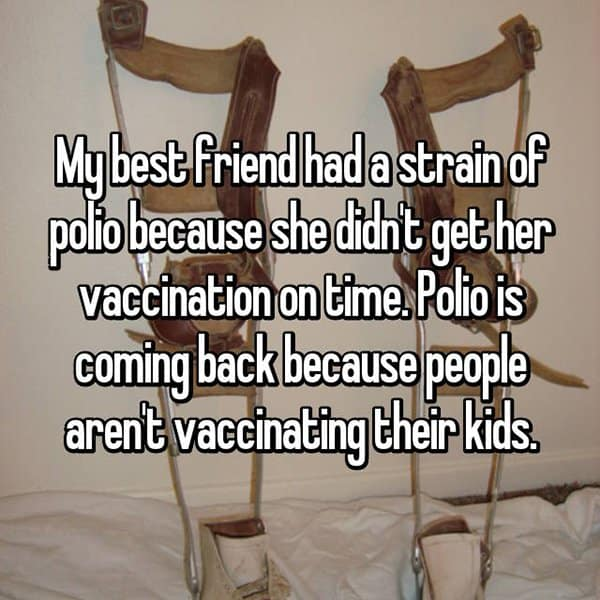 Thoughts On Vaccinating Children polio