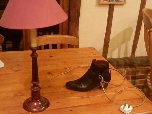 Times Drinking Did Not End Well key to mums shoe