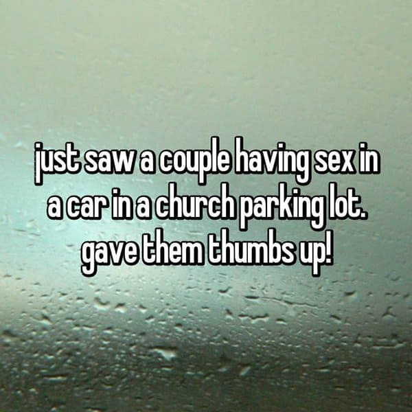 churchgoers-confess-shocking-things parking lot