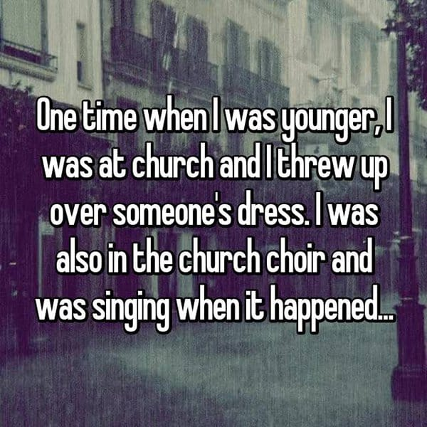 churchgoers-confess-shocking-things threw up