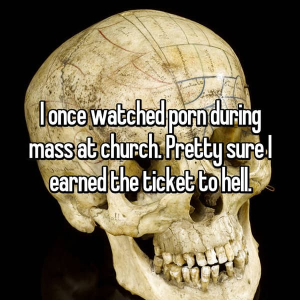 churchgoers-confess-shocking-things ticket to hell