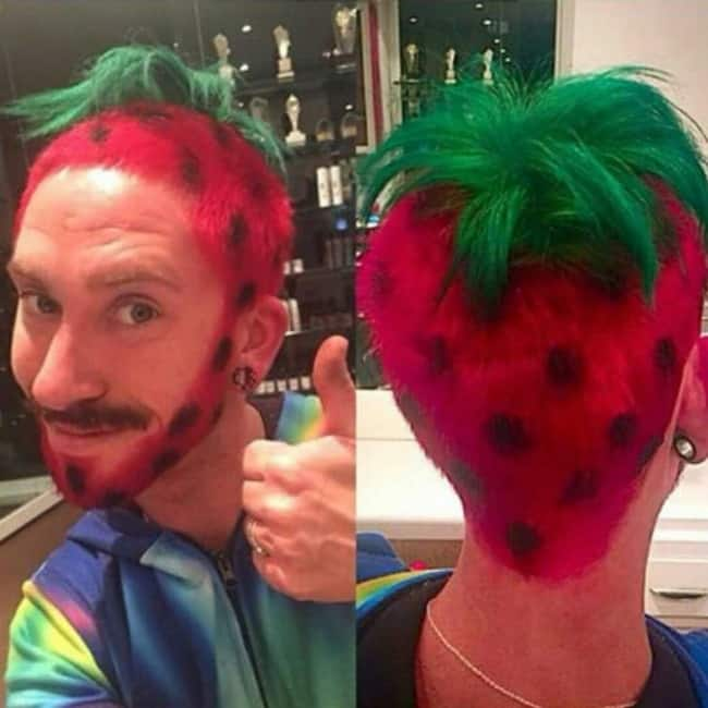 funny-crazy-hairstyles strawberry