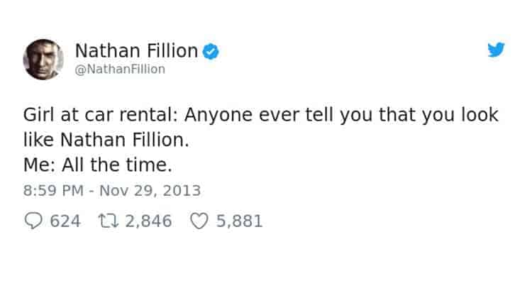 posts by nathan fillion