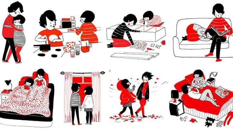 Adorable Illustrations That Show Love Is Found In The Small Things