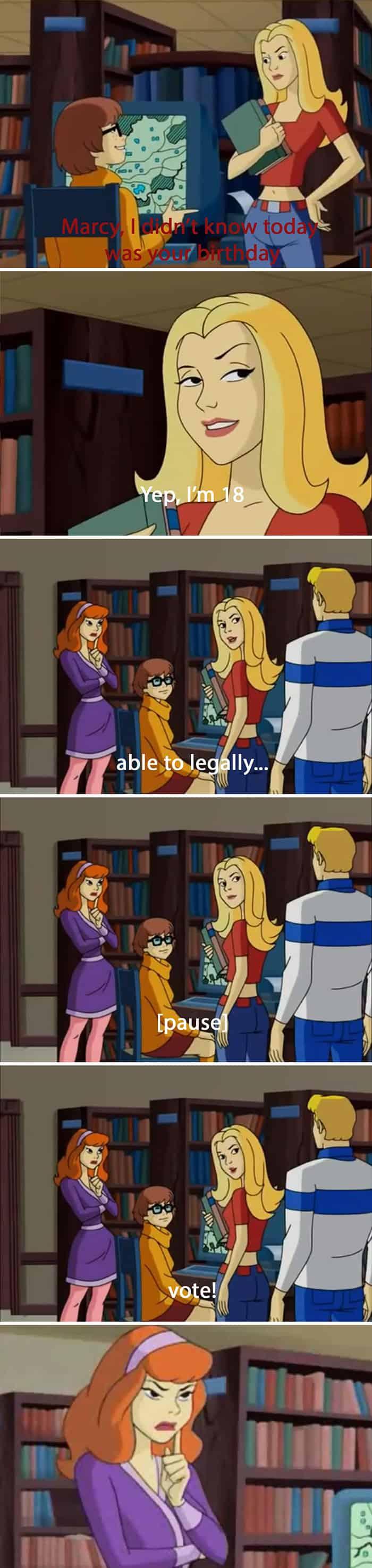 Adult Jokes Hidden In Cartoons birthday