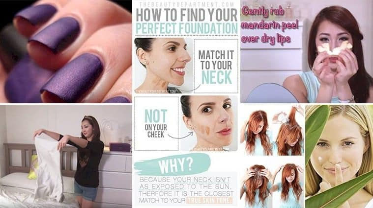Amazing Beauty Hacks You Probably Didn't Know About