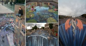 Amazing Street Art Illusions That Will Blow Your Mind
