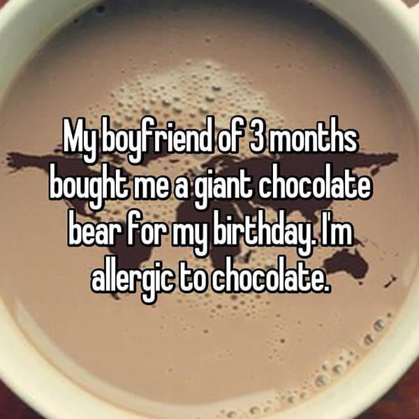Annoying Allergies Relationships chocolate