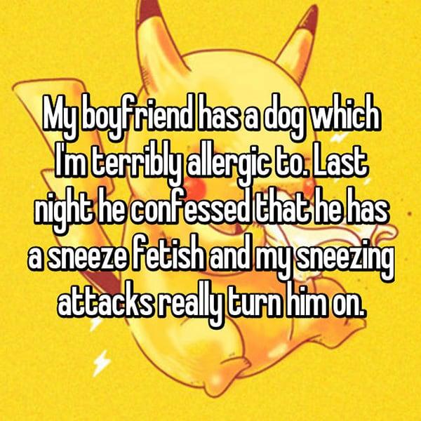 Annoying Allergies Relationships sneezing
