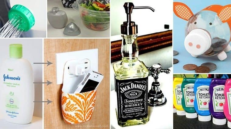Awesome DIY Ways To Resuse Old Bottles