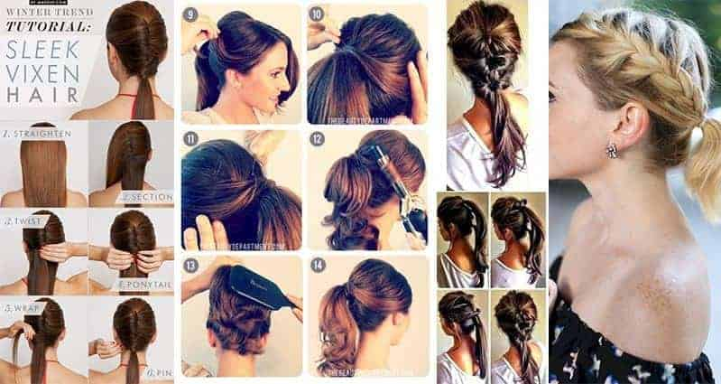 Awesome Ponytail Styles For Different Lengths And Types Of Hair