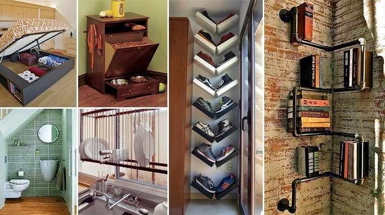 Awesome Space-Saving Ideas For Even The Smallest Of Homes