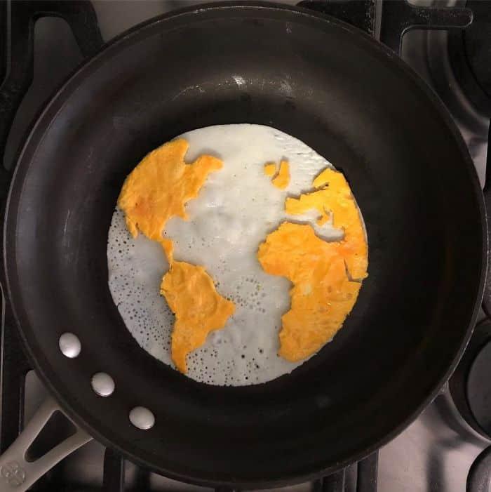 Breakfast Eggs Into Works Of Art world